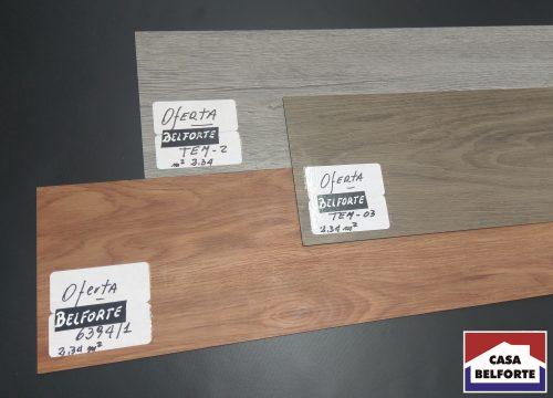 Piso Vinilico en Listone simil madera texturados casa belforte